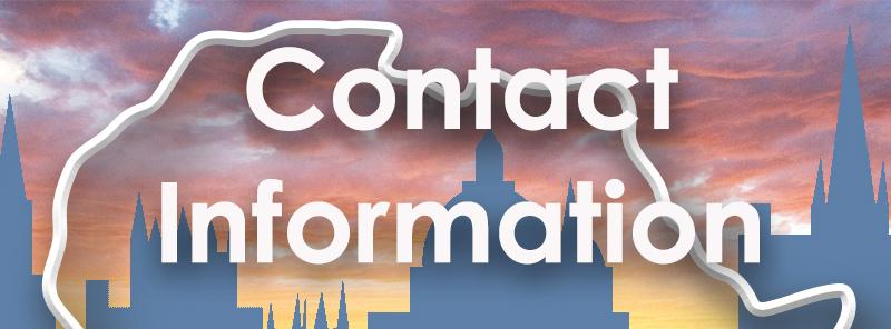contact info button