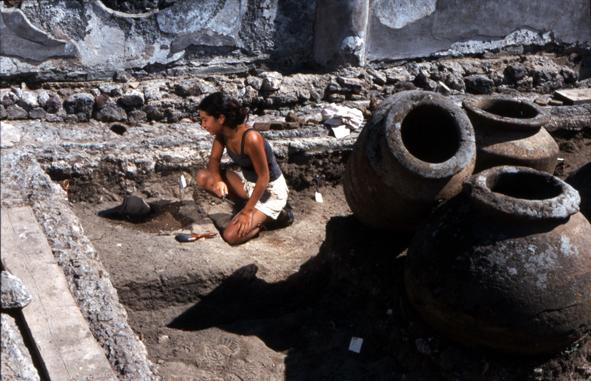 undergraduate excavating